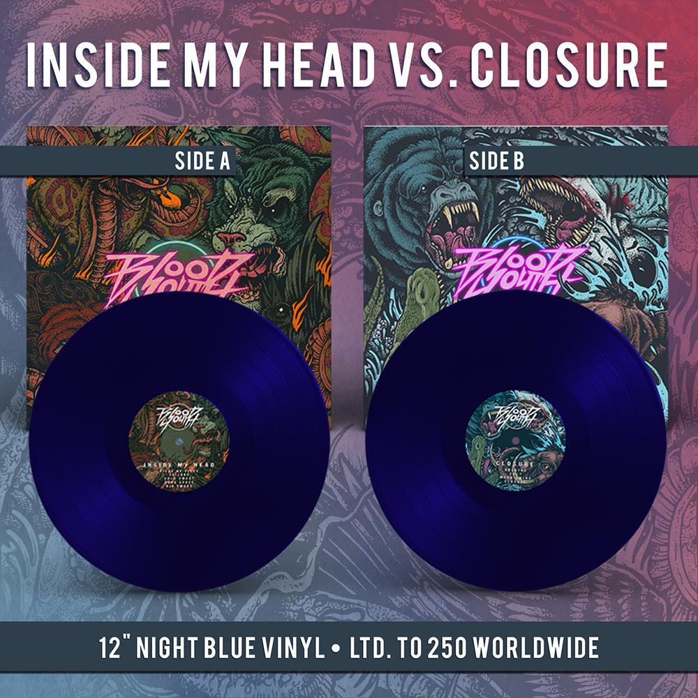 Inside My Head vs. Closure Night Blue Vinyl