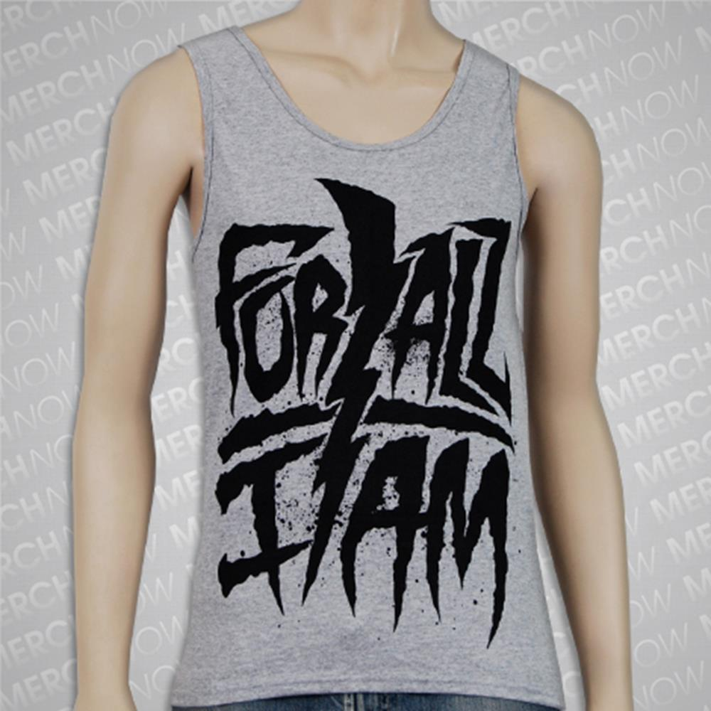 Bolt Logo Heather Gray Tank Top