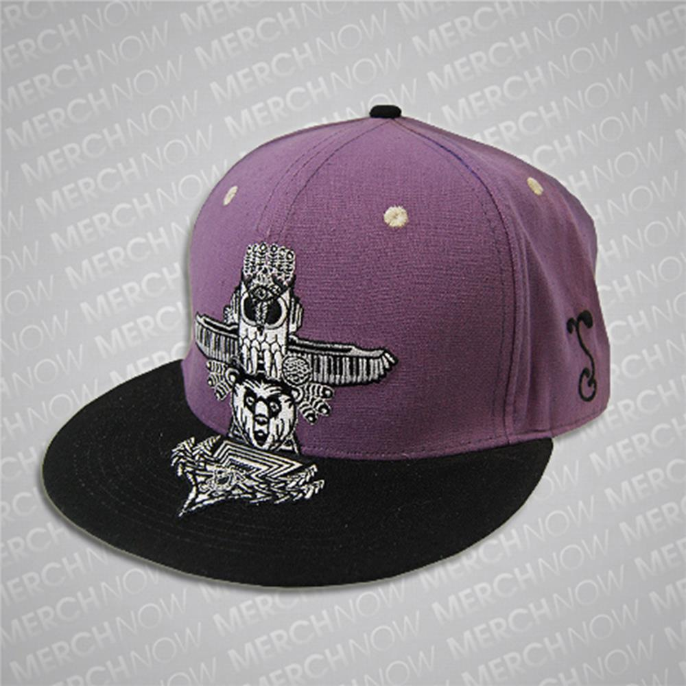 Summer Camp Purple Hat