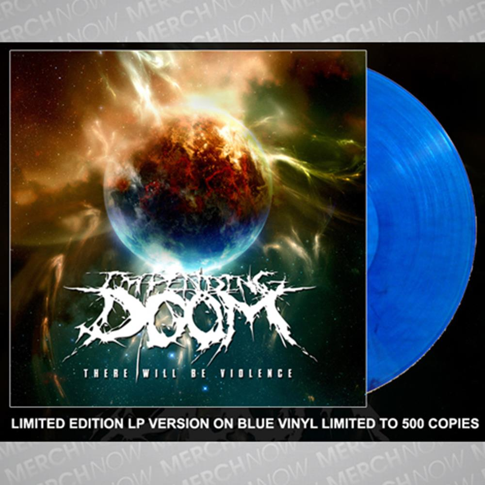 There Will Be Violence Blue LP