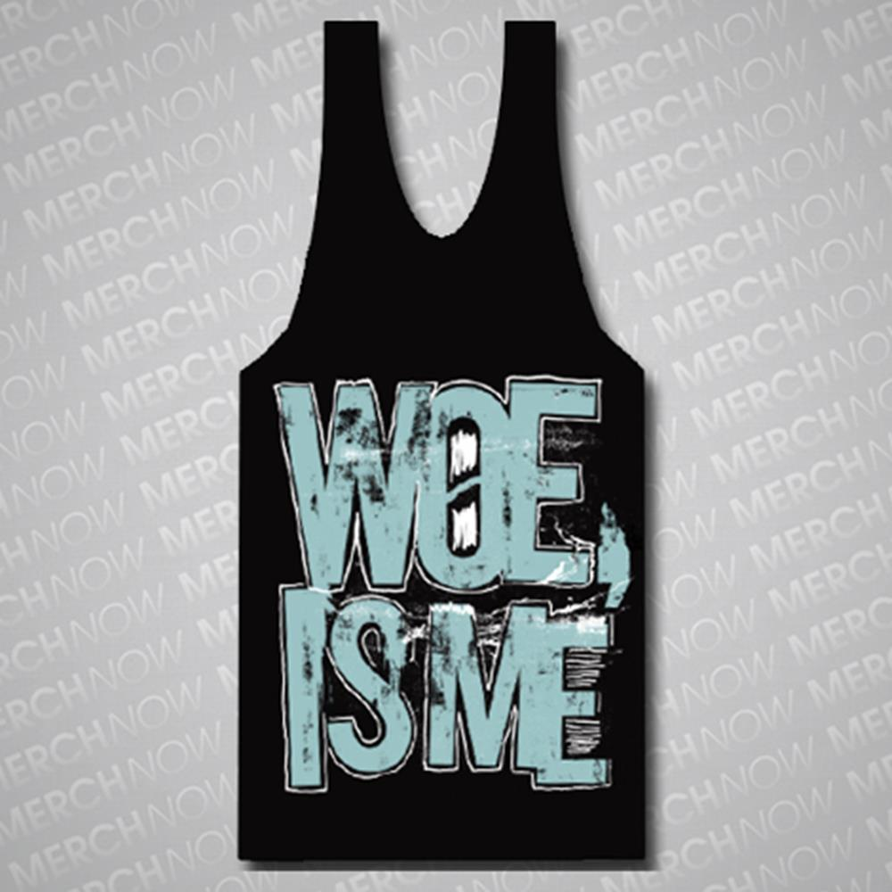 Mess Logo Black Tank Top