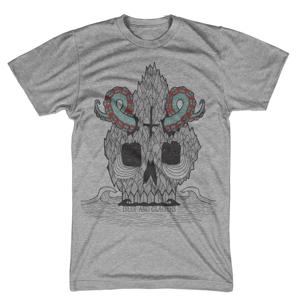 Tenta-Skulls Heather Grey