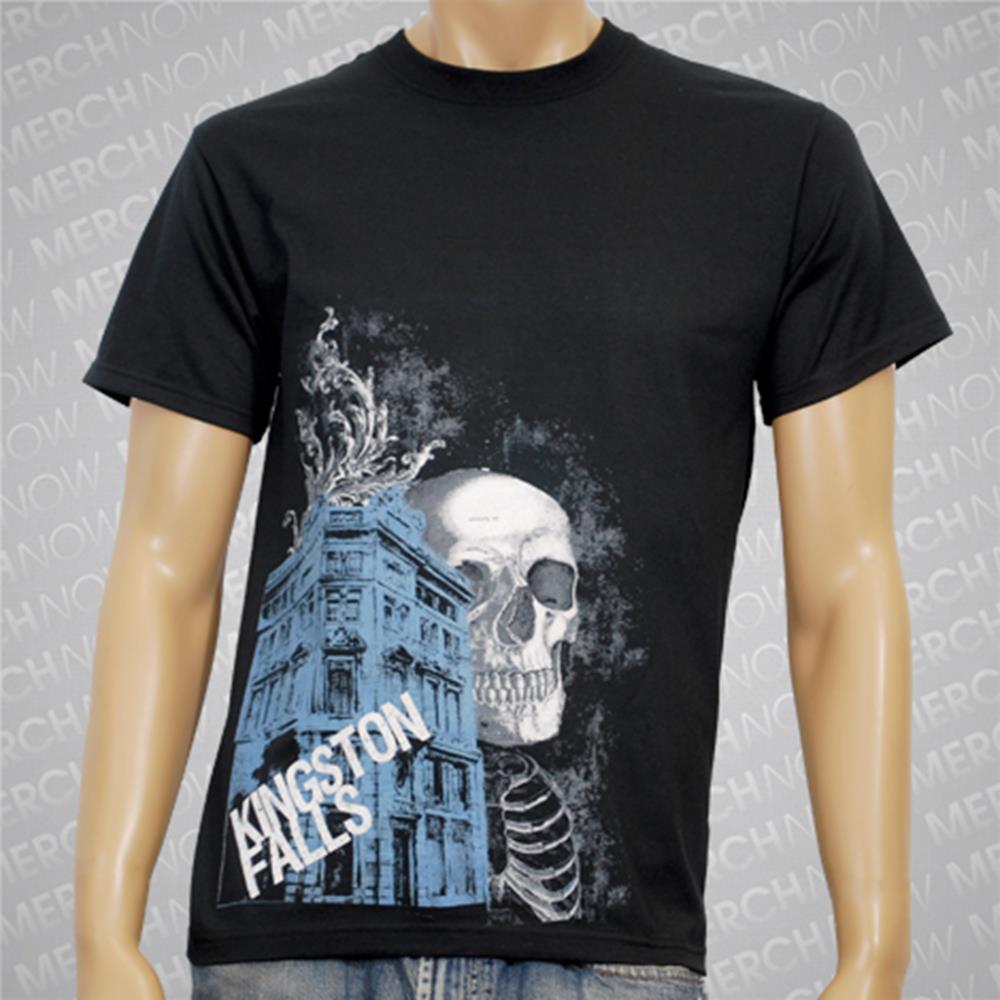 Skeleton And Building Black